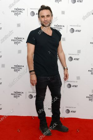 """Austin Stark (Director) attends the 2021 Tribeca Festival Premiere of """"The God Committee""""."""