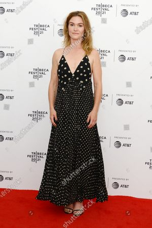 """Julia Stiles attends the 2021 Tribeca Festival Premiere of """"The God Committee""""."""