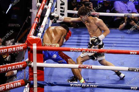 Editorial photo of Michael Dasmarinas vs. Naoya Inoue, Las Vegas, USA - 19 Jun 2021