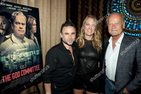 Austin Stark (Writer/Director), Amanda Bowers (Producer), Kelsey Grammer