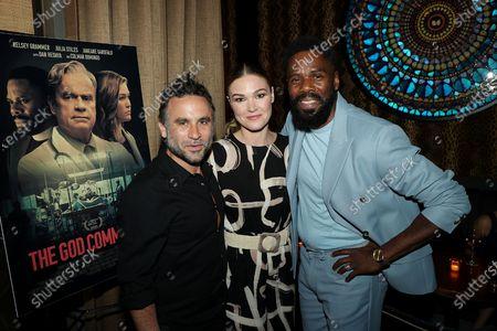 Austin Stark (Writer/Director), Julia Stiles, Colman Domingo