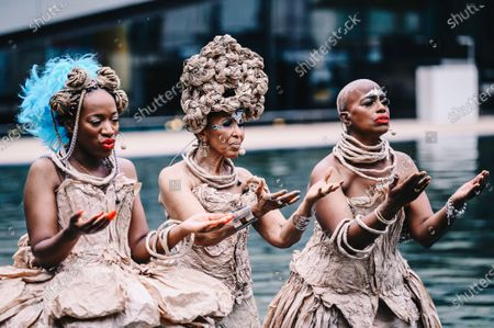 """Editorial image of """"I Dream a Dream That Dreams Back at Me"""", Lincoln Center celebrates  Juneteenth, New York, USA - 19 Jun 2021"""