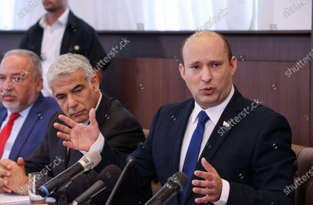 Israel's new government weekly cabinet meeting, Jerusalem