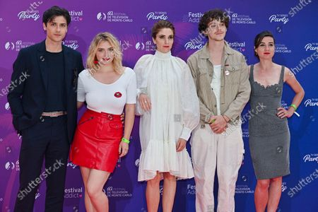 Editorial image of TV Series Party photocall, Monte-Carlo TV Festival, Monaco - 20 Jun 2021