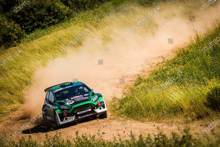 Editorial image of Rally 2021 FIA ERC Rally Poland, 1st round of the 2021 FIA European Rally Championship, Mikolajki, Poland - 20 Jun 2021