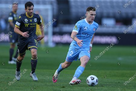 Editorial image of Melbourne City FC v Macarthur FC, A League Semi-final football match, Netstrata Jubilee Stadium, Carlton, Sydney, Australia - 20 Jun 2021