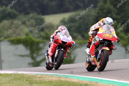 SACHSENRING, GERMANY - JUNE 20: Pol Espargaro, Repsol Honda Team MotoGP during the German GP at Sachsenring on Sunday June 20, 2021 in Hohenstein Ernstthal, Germany. (Photo by Gold and Goose / LAT Images)