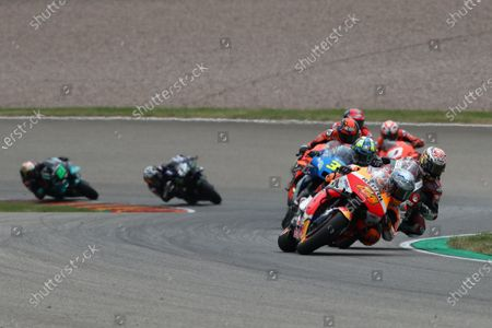 SACHSENRING, GERMANY - JUNE 20: Pol Espargaro, Repsol Honda Team during the German GP at Sachsenring on Sunday June 20, 2021 in Hohenstein Ernstthal, Germany. (Photo by Gold and Goose / LAT Images)