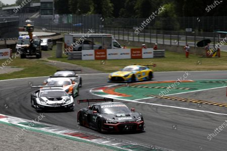 AUTODROMO NAZIONALE MONZA, ITALY - JUNE 20: Mike Rockenfeller, Abt Sportsline Audi R8 LMS GT3 at Autodromo Nazionale Monza on Sunday June 20, 2021 in Monza, Italy. (Photo by Alexander Trienitz / LAT Images)