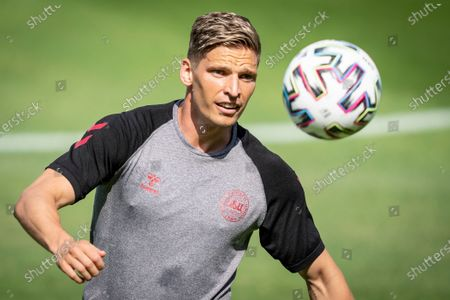 Editorial photo of UEFA EURO 2020 Denmark training, Elsinore - 20 Jun 2021