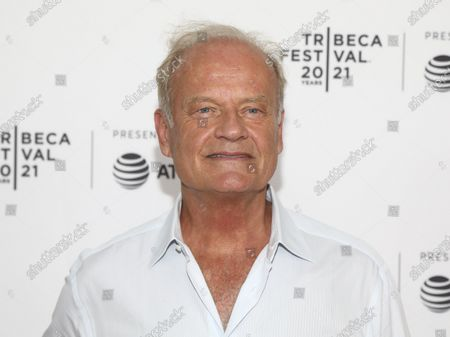 """Actor Kelsey Grammer attends the premiere of """"The God Committee"""" during the 20th Tribeca Festival at Brooklyn Commons MetroTech, in New York"""