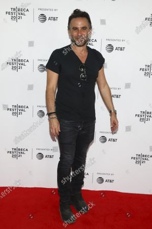 """Director Austin Stark attends the premiere of """"The God Committee"""" during the 20th Tribeca Festival at Brooklyn Commons MetroTech, in New York"""