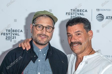 Paul Solet and John Bianco attend the Clean Premiere during the 2021 Tribeca Festival at Brooklyn Commons, MetroTech in New York City.