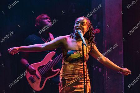 Amahla in concert, London