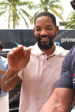 Exclusive - Will Smith spends Father's Day with family, Miami