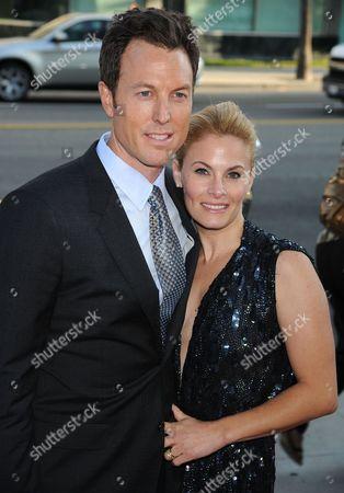 Producer Dean Zanuck and Marisa Zanuck