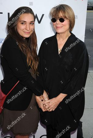 Madison Fisk and Sissy Spacek