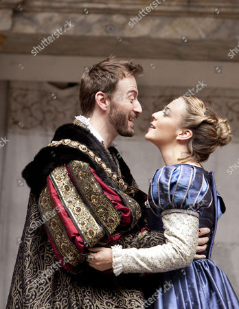 'Anne Boleyn' - Anthony Howell (King Henry VIII) and Miranda Raison (Anne Boleyn)
