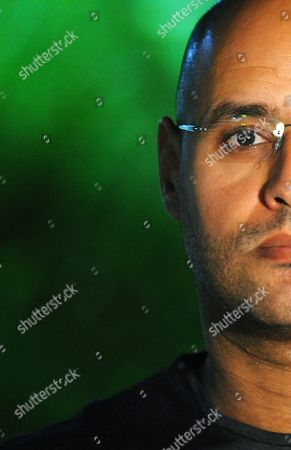 Editorial image of Saif Al Islam Gaddafi in Rome, Italy - 22 Jun 2010