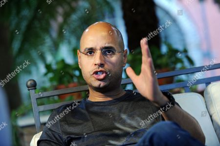 Stock Picture of Saif al-Islam Gaddafi