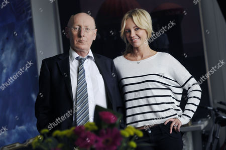 Stock Photo of Sir Clive and wife Angie Sinclair