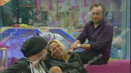 The Geordie voice of 'Big Brother' Marcus Bentley enters the house as part of the latest Big Brother Task and tries to distract John James Parton and Josie Gibson