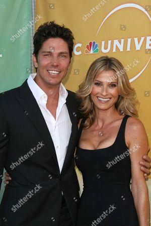Michael Trucco and Sandra Hess
