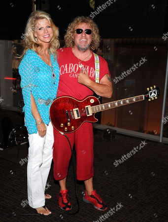 Kari Hagar and Sammy Hagar