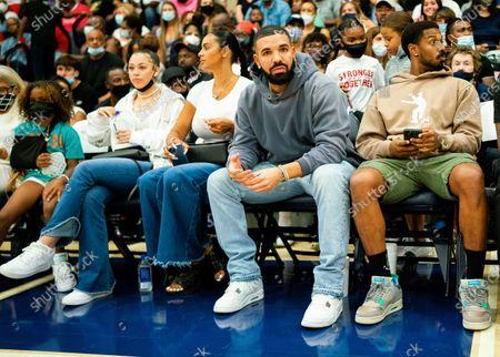 Stock Picture of Drake and Michael B. Jordan
