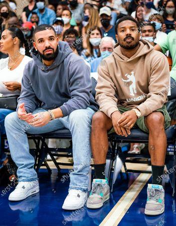 Drake and Michael B. Jordan