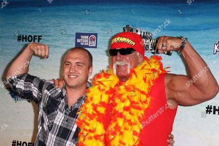 Nick Hogan and Hulk Hogan