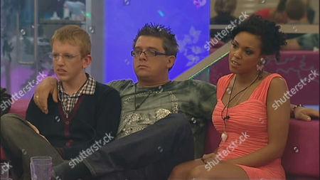 Andrew Edmonds, Dave Vaughan and Rachel Ifon