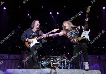 Iron Maiden - Dave Murray, Jannick Gers