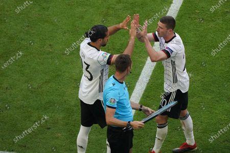 Emre Can Robin Gosens both Germany