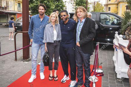 Stock Photo of Yousef Hadji, Tom Leeb, Julien Rambaldi and Lea Drucker