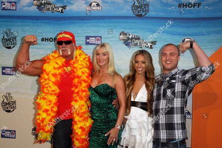 Hulk Hogan and Nick Hogan with Guests