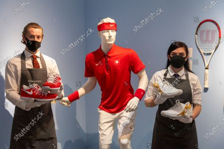 The Rodger Federer Collection at Christies, London