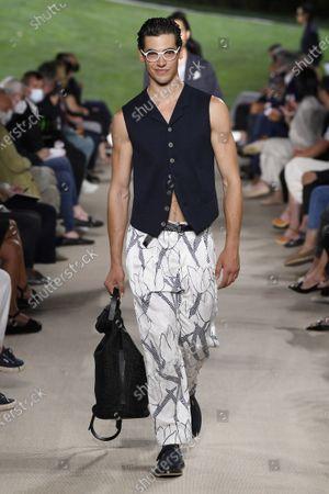 Armani show, The Collection, Milan Fashion Week Men's