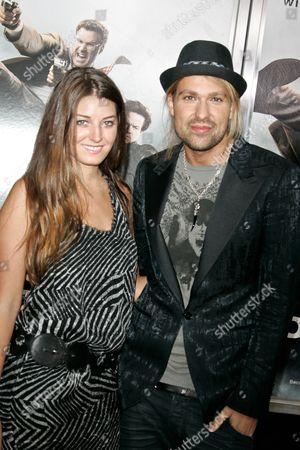 Samantha Swetra and David Garrett