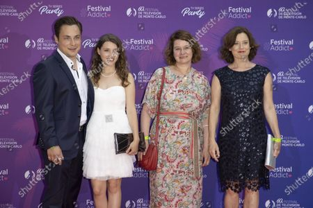(L-R) Ferdinand Lehmann, Janina Fautz, Christine Hirt and Inka Friedrich