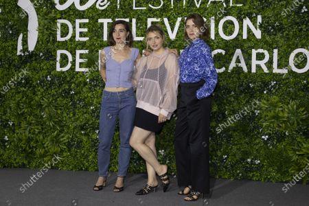 (L-R) Nina Meurisse, Lula Cotton Frapier, Maud Wyler