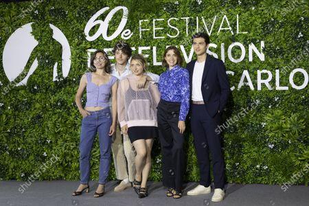 Editorial photo of 'Mixed' photocall, Monte-Carlo TV Festival, Monaco - 19 Jun 2021