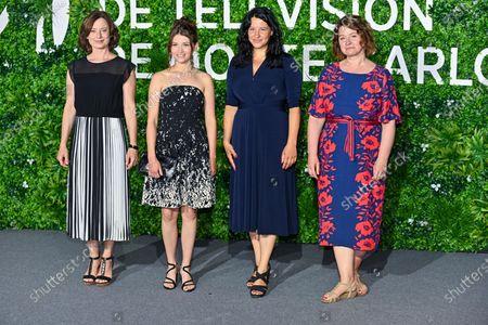Inka Friedrich, Janina Fautz, Henriette Lippold and Christine Hirt