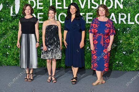 Stock Picture of Inka Friedrich, Janina Fautz, Henriette Lippold and Christine Hirt