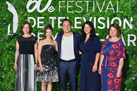 Editorial photo of 'The Unbearable Lightness of the Revolution' photocall, 60th Monte-Carlo TV Festival, Monte-Carlo, Monaco - 21 Jun 2021