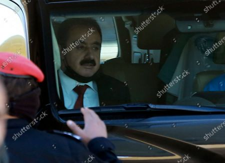 Defense lawyer Mohammad Afeef, who represents Bassem Awadallah, is driven from a State Security Court, where the trial of Awadallah, a former royal adviser, and Sharif Hassan bin Zaid, a distant cousin of the king, is taking place, in Amman, Jordan, . The defendants are accused of conspiring with a senior royal - Prince Hamzah, a half-brother of the king - to foment unrest against the monarch while soliciting foreign help. Both pleaded not guilty