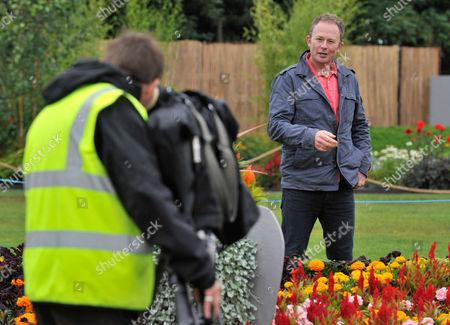 Rhs Flower Show At Tatton Park Knutsford Cheshire. -bbc Gardening Presenter Toby Buckland.