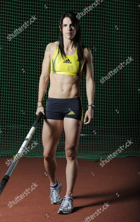 Kate Dennison British Record Holder Pole Vaulter Pole Vaulting Feature