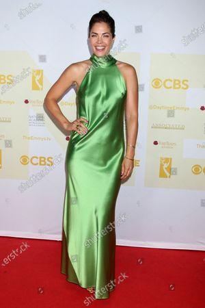Editorial image of 48th Daytime Emmy Awards, Press Line, Burbank, California, USA - 13 Jun 2021
