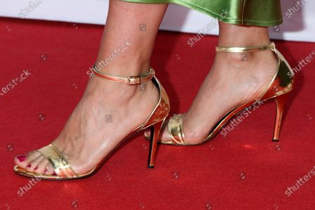 Stock Photo of Kelly Thiebaud Shoe Detail